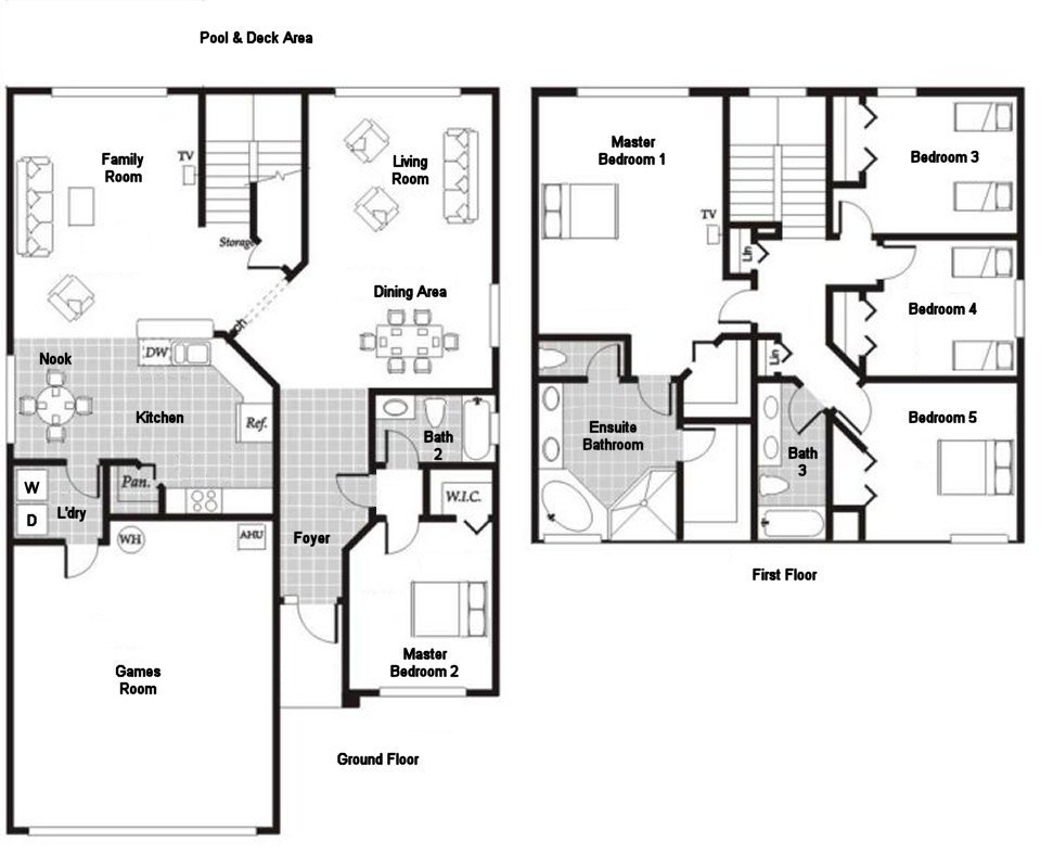 Monticello 5 Floorplan