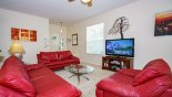 Spacious rental Highlands Reserve Villa in Orlando complete with stunning Great room with 50