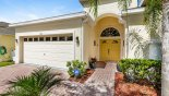 View of villa entrance - www.iwantavilla.com is your first choice of Villa rentals in Orlando direct with owner