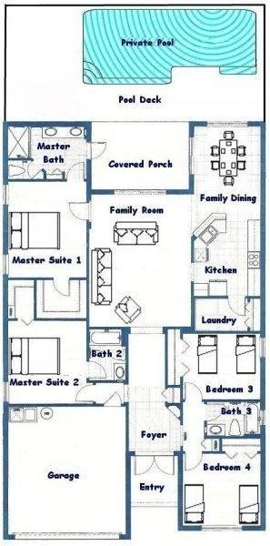 Jasmine 3 Floorplan