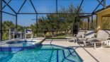 St Vincent Sound 6 Villa rental near Disney with The pool and stand alone spa, complete with seating to enjoy the endless sunshine