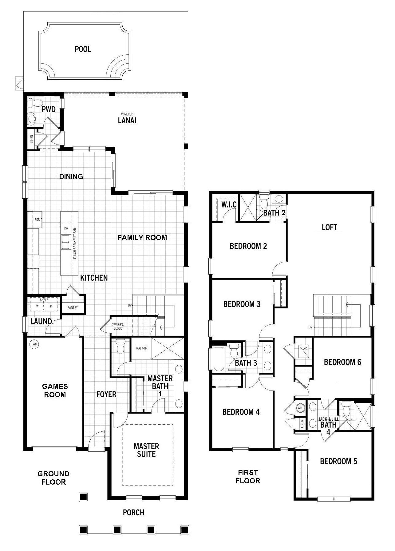 Laguna + 2 Floorplan