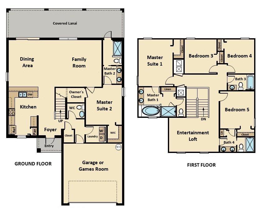 Bali 2 Floorplan