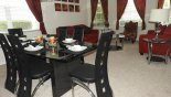 Villa rentals near Disney direct with owner, check out the Formal dining area and living room