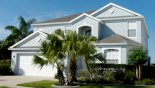 Villa frontage from Canterbury 5 Villa for rent in Orlando