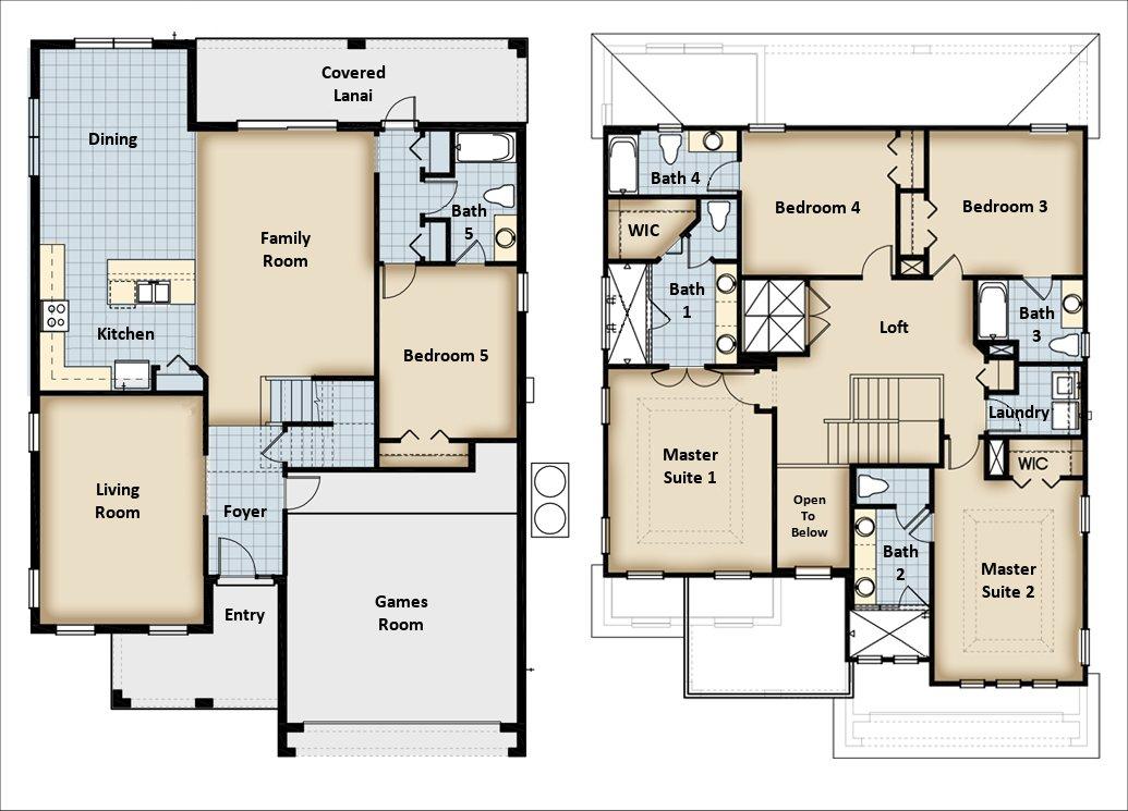 Mendocino 1 Floorplan