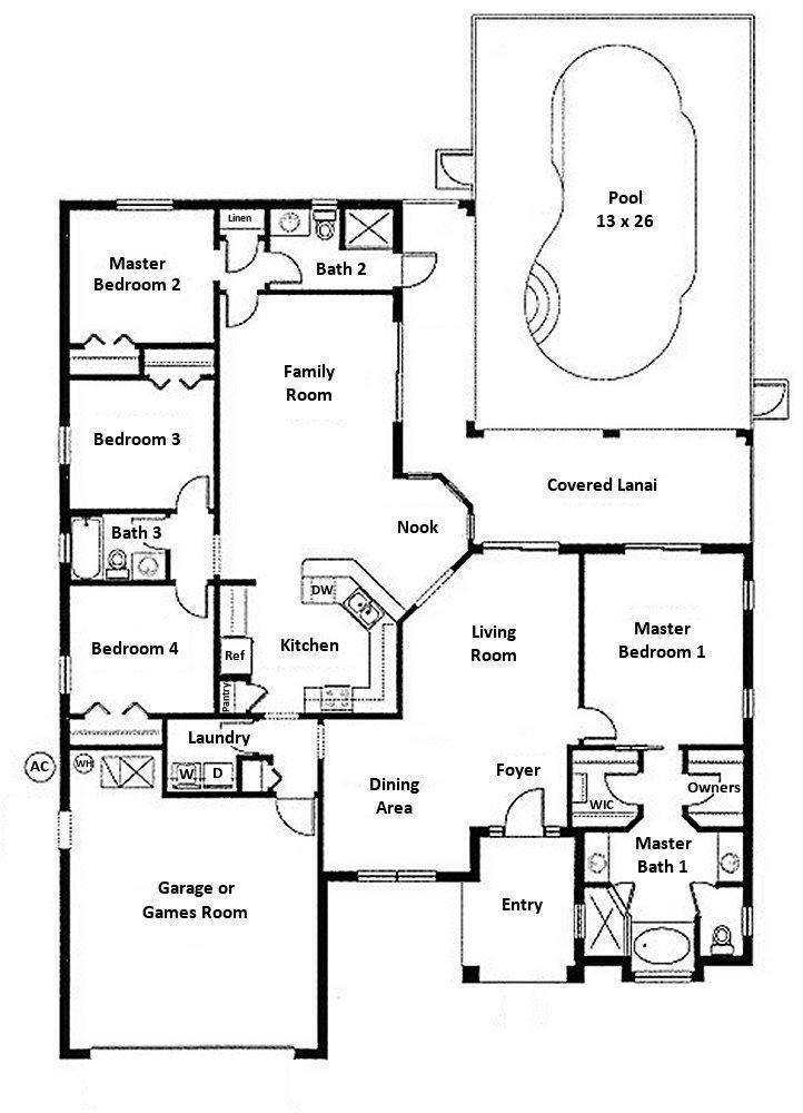 Montiero 1 Floorplan