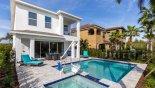 Crestview 2 Villa rental near Disney with View of pool & spa towards villa