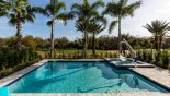 Extended pool deck gets the sun all day - www.iwantavilla.com is your first choice of Villa rentals in Orlando direct with owner