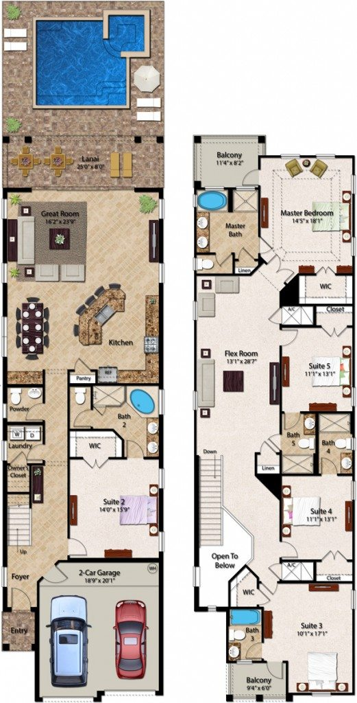 Crestview 2 Floorplan