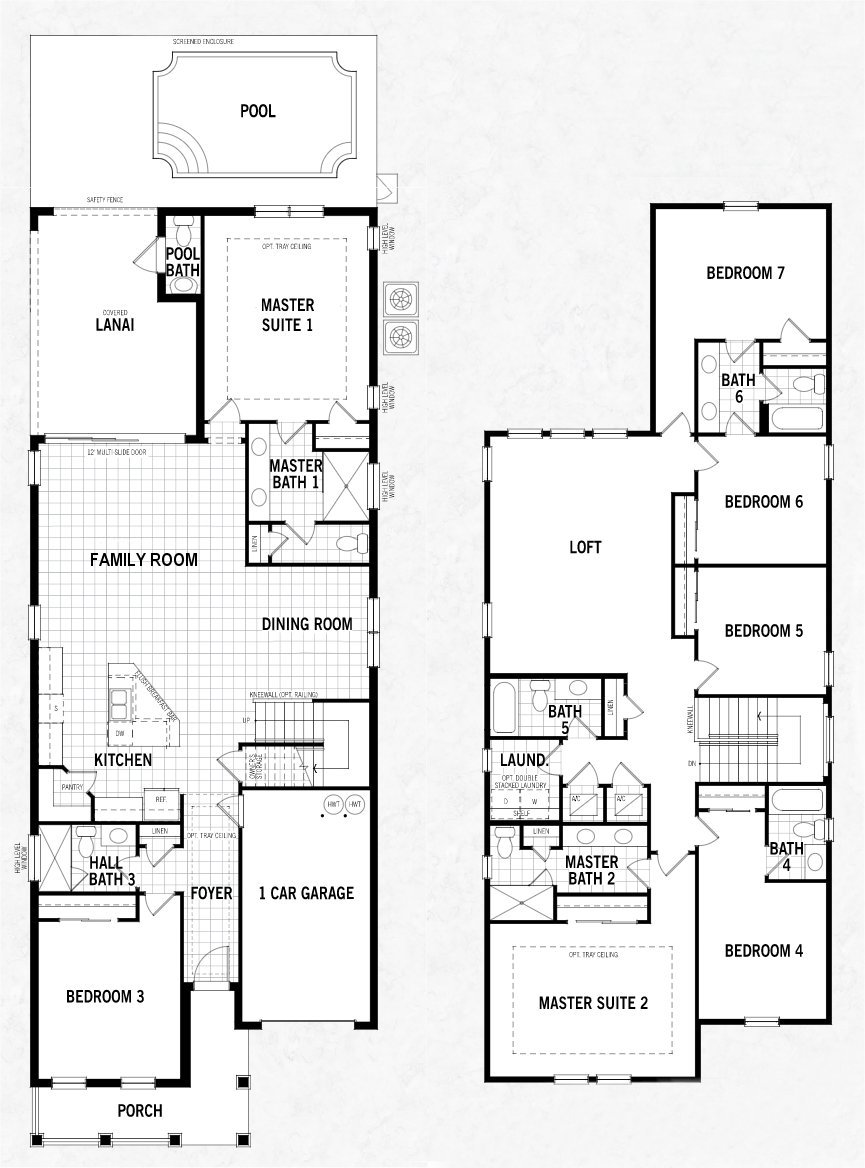 Malibu + 1 Floorplan