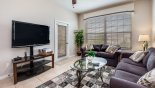 Condo rentals in Orlando, check out the Living room with large LCD cable TV