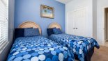 Condo rentals near Disney direct with owner, check out the Bedroom #3 with built-in wardrobe