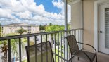 Views over resort from screened balcony with this Orlando Condo for rent direct from owner