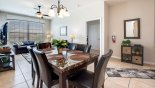 Orlando Condo for rent direct from owner, check out the Dining area with seating for 6 persons