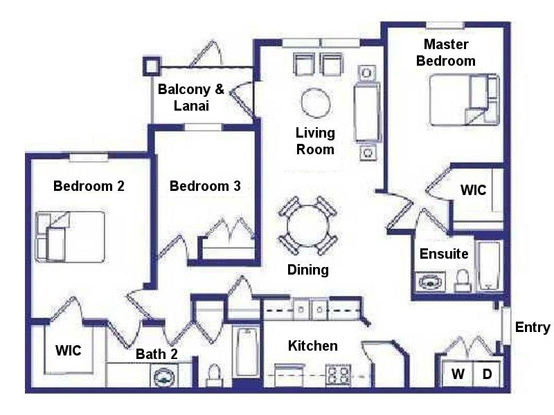 Santa Anna 1 Floorplan