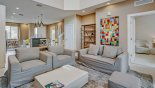 Townhouse rentals in Orlando, check out the Living room with comfortable seating