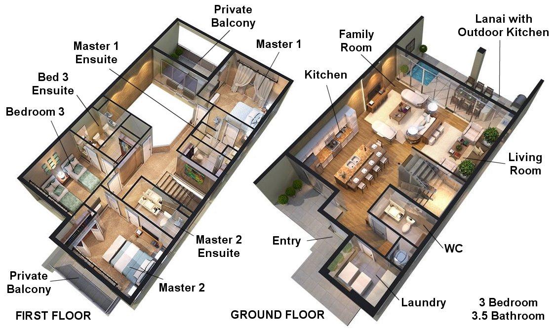 Magical 1 Floorplan