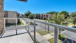Private balcony off bedroom #3 from Magic Village Resort rental Townhouse direct from owner