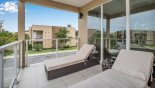 Townhouse rentals in Orlando, check out the View from private balcony