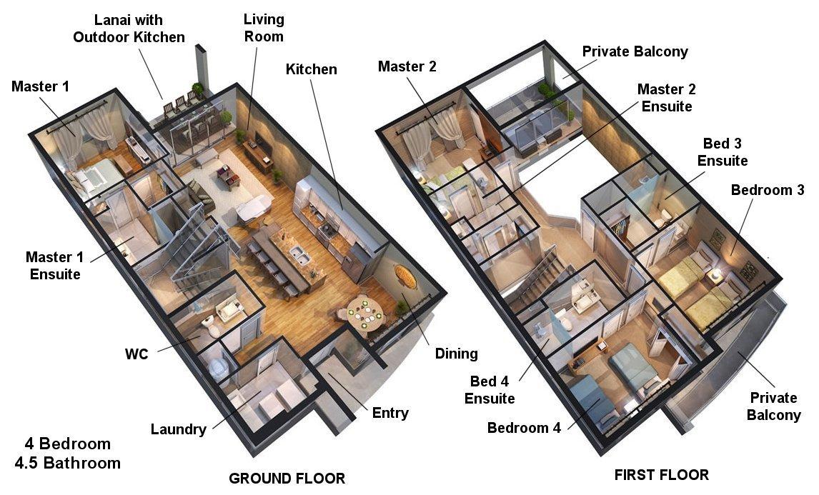 Delight 4 Floorplan