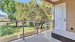 Townhouse rentals near Disney direct with owner, check out the Private balcony with pleasant views