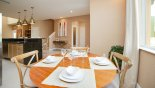 Townhouse rentals in Orlando, check out the View of dining nook towards kitchen