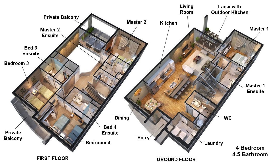 Delight 5 Floorplan