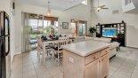 Magna Bay 1 Villa rental near Disney with Kitchen viewed towards breakfast nook