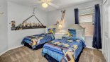 Orlando Villa for rent direct from owner, check out the Bedroom #4 with twin beds & Minions theming