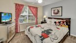 Orlando Villa for rent direct from owner, check out the Bedroom #3 with queen sized bed