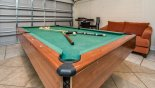 Spacious rental Emerald Island Resort Villa in Orlando complete with stunning Anyone for a game of pool ?