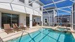 Majesty Palm 3 Villa rental near Disney with Pool deck with 3 sun loungers