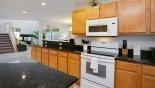 Casa Marina 1 Villa rental near Disney with Kitchen viewed towards family room
