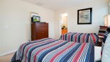 Casa Marina 1 Villa rental near Disney with Bedroom #3 with LCD cable TV