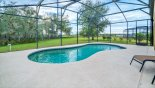 Pool deck with o rear neighbours and neighbours either side are well spaced from Providence rental Villa direct from owner