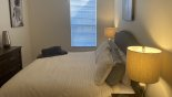 Villa rentals in Orlando, check out the Twin bedroom #4 with LCD cable TV