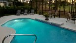 South west facing pool with golf course views with this Orlando Villa for rent direct from owner