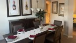 Villa rentals near Disney direct with owner, check out the Dining room off entrance hallway
