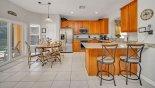 Brentwood 11 Villa rental near Disney with Kitchen breakfast bar with 2 bar stools