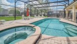 Inviting in-ground spa - great after a long day at the parks from Windsor Hills Resort rental Villa direct from owner