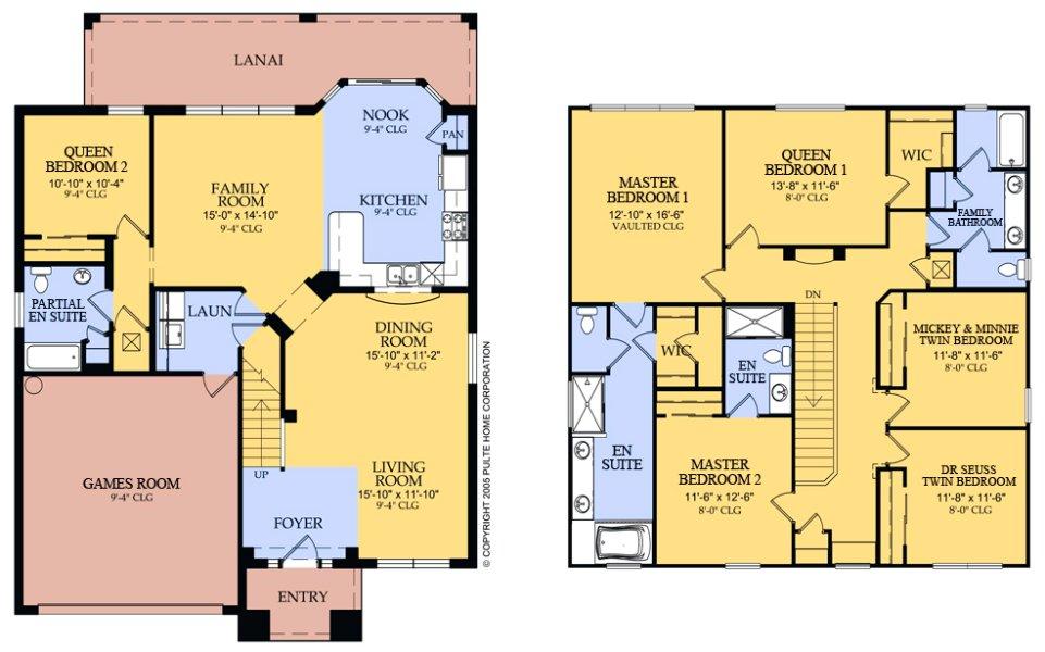 Brentwood 6 Floorplan