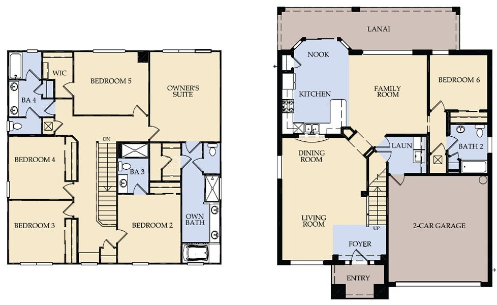 Brentwood 5 Floorplan