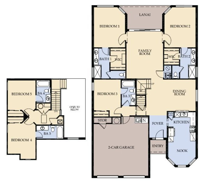 Seville 5 Floorplan