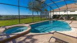 Orlando Villa for rent direct from owner, check out the South west facing pool & spa with vast open views