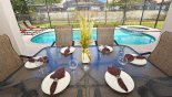Sheldon 4 Villa rental near Disney with Covered lanai with patio table & 6 chairs