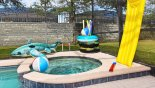 Plenty pf pool toys available - www.iwantavilla.com is your first choice of Villa rentals in Orlando direct with owner