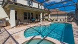 Villa rentals in Orlando, check out the 4 sun loungers and a gas BBQ for your personal use