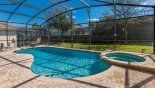 Sunny south east facing pool & spa - www.iwantavilla.com is your first choice of Villa rentals in Orlando direct with owner