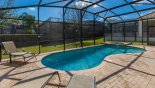 Sunny south east facing pool & spa - www.iwantavilla.com is the best in Orlando vacation Villa rentals